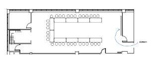 Maple Room U-shape