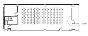 Maple Room theatre style